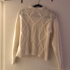 Everlane cable knit sweater